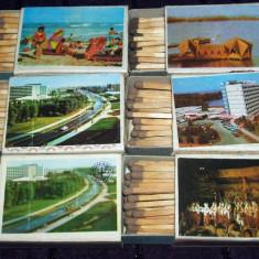 Vederi din Statiuni de pe Litoral - 6 cutii chibrituri romanesti, Braila anii 80