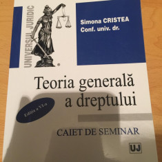 CAIET DE SEMINAR TGD CARTI DREPT