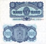 Cehoslovacia 1961 - 3 korun UNC