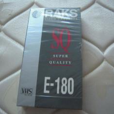 Caseta video VHS RAKS 180 minute