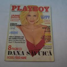 Primul numar Playboy Romania noiembrie 1999 Dana Savuica
