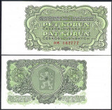 Cehoslovacia 1961 - 5 korun UNC