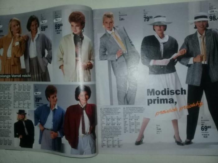 revista veche de moda si desing vestimentar ,produse casa,SCHOPFLIN