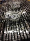 Caseta audio noua EAGLE C15 cu role din aluminiu - bulk 1 bucata