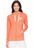 Nike Gym Vintage Full Zip Hoodie Rush Coral/Sail