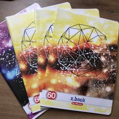 Set 4 caiete de matematica, studentesti, Herlitz