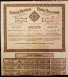 STEAUA ROMANA SOCIETATE ANONIMA PT INDUSTRIA PETROLEULUI ACTIUNE 500 LEI 1926, Romania 1900 - 1950