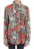 Vivienne Westwood Multicolor Sid Viscose And Silk Shirt Multi, Vivienne Westwood