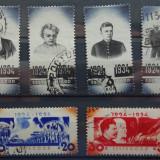 Set de timbre 1934 A 10-a aniversare a morții lui Vladimir Lenin, Stampilat