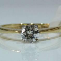 Inel diamante certificat GIA