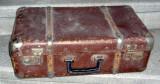 Gemantan valiza din carton presat Stăruința  veche vintage anii 60-70