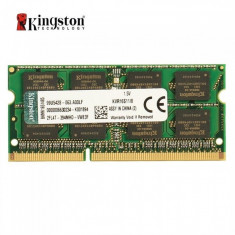 Memorie Laptop Kingston 8GB DDR3 PC3-12800S 1600Mhz 1.5V