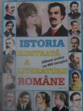 ISTORIA ILUSTRATA A LITERATURII ROMANE. ALBUM SCOLAR CU 900 IMAGINI - BORIS CRAC