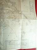 Harta Eladei- Grecia Antica , dim.= 36x41 cm