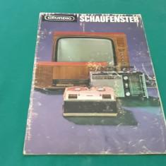 CATALOG GRUNDING SCHAFENSTER/ TELEVIZOARE, MOBILĂ TV, RADIO, BOXE, ETC/1966