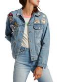 Wrangler Retro Women's Light Blue Denim Jacket Glaston