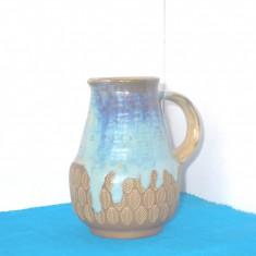 Vaza carafa ceramica raku - design Sigvard Bernadotte, Andersen & Son, Danemarca