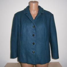 Sacou casual dama Arezia, made in Italy, lana, mar S, stare perfecta!, Din imagine