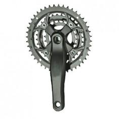Agrenaj pedalier 3 foi, 9 viteze, 22-32-44T, brat 170mm