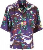 DSQUARED2 Printed Silk Shirt FANTASY