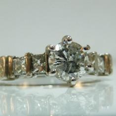 Inel diamante 1.2ct total