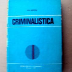 Carte   Criminalistica Ion  Mircea