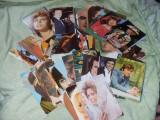 Carti postale vechi RARE,Actori,artisti,muzicanti,cantareti,80 bucati,T.GRATUIT