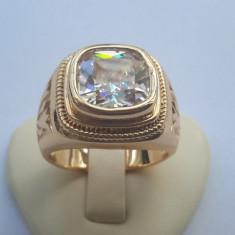 Inel Barbati Luxury Briliant,dublu placat aur 24K, 57 - 67