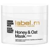 Masca de par Honey & Oat 120ml, Label.m