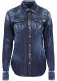 DSQUARED2 Denim Western Shirt BLUE