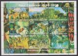 DB Arta  Senegal  Pictura Cezanne  MS MNH, Nestampilat