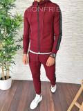Trening barbati GRENA PREMIUM - Bluza + Pantaloni - A2630, L, M, XL, Din imagine, Nocciola