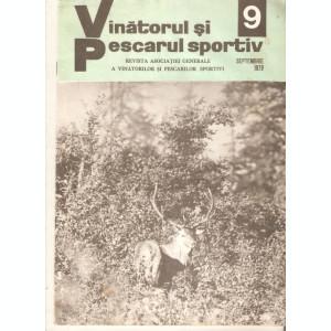 Revista Vanatorul si pescarul sportiv nr.9-1971