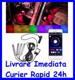 Cumpara ieftin Kit Complet interior LED SMD RGB 12.5cm si aplicatie Bluetooth AL-090718-4