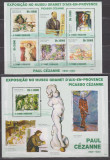 DB Sao Tome Pictura  Cezanne  MS  + SS MNH, Nestampilat