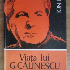 Viata lui G. Calinescu  / Ion Balu