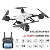 DRONA XKY 601S - 20Min zbor With HD 5mp Wifi Fpv (culoare alba)