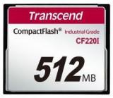 Card memorie Transcend Industrial CF CF220I 512MB
