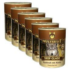 Conservă WOLFSBLUT Deep Glade, 6 x 395 g