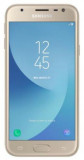 Telefon Mobil Samsung Galaxy J3 (2017), Procesor Quad-Core 1.4GHz, PLS TFT LCD 5inch, 2GB RAM, 16GB, 13MP, 4G, Wi-Fi, Android (Gold), 5'', 13 MP