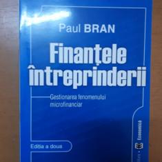 Bran, Finanțele întreprinderii. Gestionarea fenomenului microfinanciar