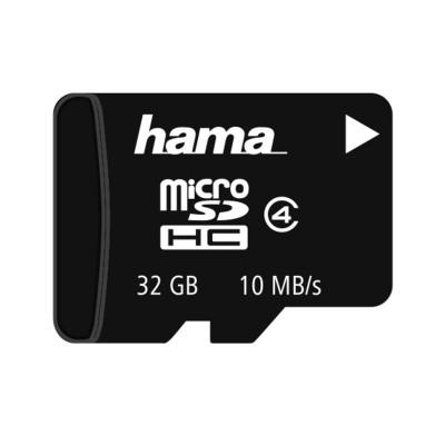 Card memorie micro SDHC Hama, Clasa 4, 32 GB foto