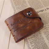Portofel Barbati BAILINI CLASSIC Piele Barbati Maro
