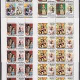 DB Burundi Pictura Picasso 130 ani de la nastere  4 MS  MNH, Nestampilat