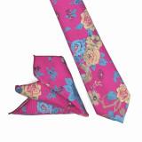 Cravata lila paisley batista Lax, ONORE