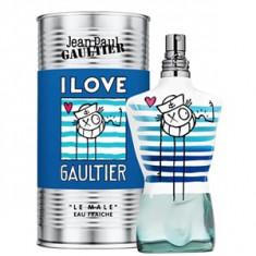 Jean Paul Gaultier Le Male I Love Gaultier André Saraiva Edition Eau Fraiche Tester 125 ml pentru barbati