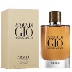 Giorgio Armani Acqua di Gio Absolu EDP 75 ml pentru barbati, Apa de parfum