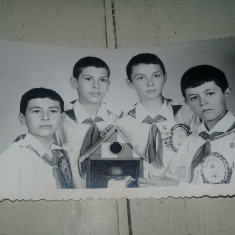 Fotografie veche PIONIERI Premiati la concursul TEHNIUM,RARA,T.GRATUIT