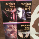 CIMITIRUL ANIMALELOR/SHINING/MISERY/CARRIE-STEPHEN KING  (4 VOL)