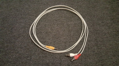 Cablu audio jack rca 2,10 m center, subwoofer foto